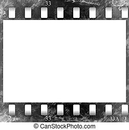 Film frame(b&w)(stylization of an old film)