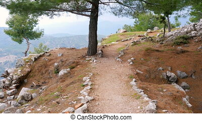 quot;empty lycian way, lycia road, turkey The Sunday Times...