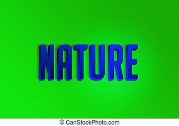 Nature 3D Letters