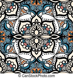 seamless pattern - Vector seamless colored pattern. Isolated...