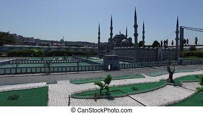Miniaturk Park Istanbul - ISTANBUL, TURKEY - 4 APRIL, 2016:...