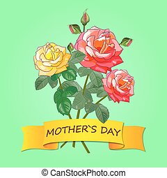 Roses and Mother's Day