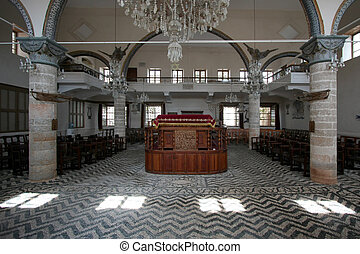 Synagogue  - Inside a synagogue