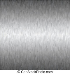 silver square metal background - Abstract brushed silver...