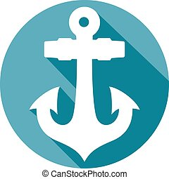 anchor flat icon