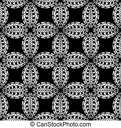 Ornament Pattern - Seamless Abstract Tribal Pattern....