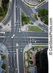 Intersection - intersection from the top