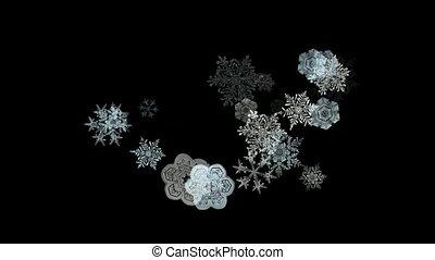 falling snowflake pattern%uFF0Cseamless