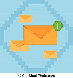 Envelope Digital Marketing Email Inbox Message Send Business...