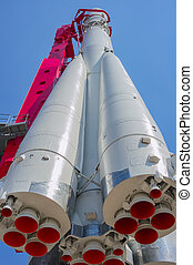 Russian space rocket Vostok, Moscow, Russia, East Europe