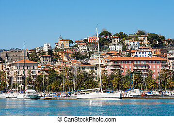 Cityscape of La Spezia - Liguria Italy - View of the city...