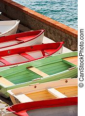 Rowing Boats in Liguria Italy