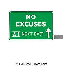 não, desculpas, estrada, sinal, isolado, ligado,...