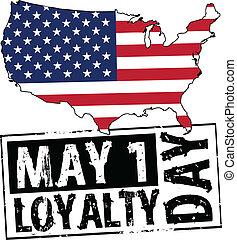 may 1 - USA - loyalty day