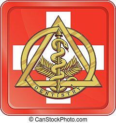 Dental Emergency Symbol is an illustration of the gold...