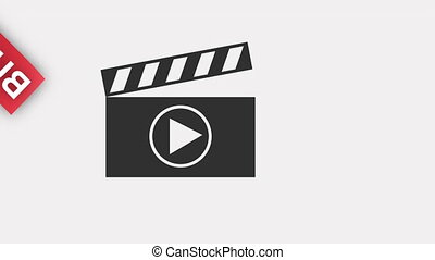 Shopping icon design, Video Animation HD1080