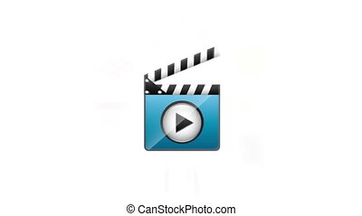 media player design, Video Animation HD1080