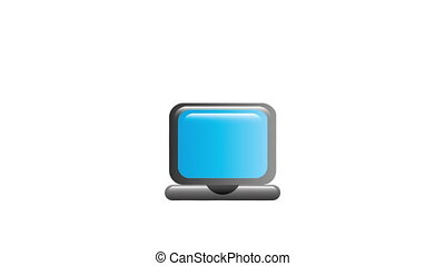 Computer icon design, Video Animation HD1080
