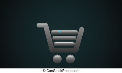 commerce icon design, Video Animation HD1080