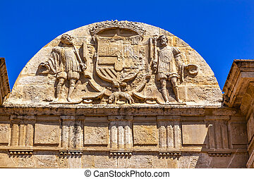 Puerta del Puenta Gate Symbol Coat Arms Cordoba Spain -...