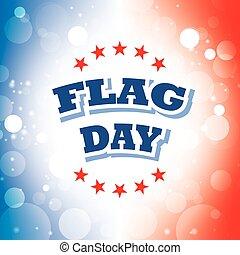 flag day banner 2 - flag day banner on celebration...