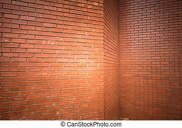 brick wall texture background material of industry building...