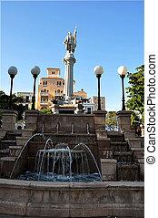 Columbus Statue in Puerto Rico