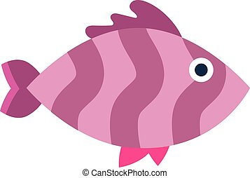 Abstract aquarium vector fish underwater nature animal icon...