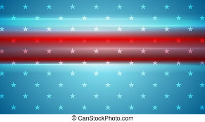 Usa flag colors abstract video animation - Usa flag colors...