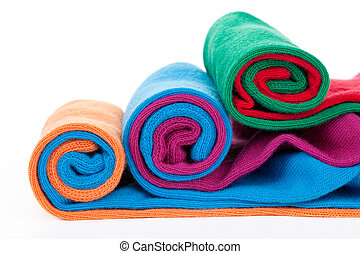 Three color socks rolls - Three differed color socks rolls...