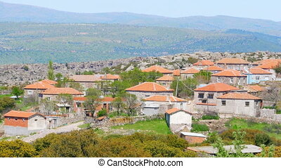 quot;traditional stone houses old turkish villages around...