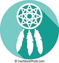 indian talisman dreamcatcher - native american indian...