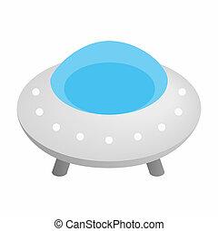 UFO 3d isometric icon