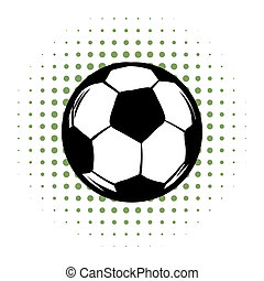 Soccer comics icon