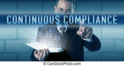 Security Director Touching CONTINUOUS COMPLIANCE - Security...