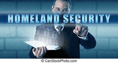 Protection Professional Pushing HOMELAND SECURITY