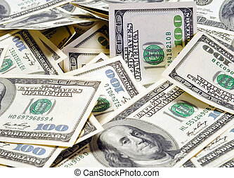 dollars, business background