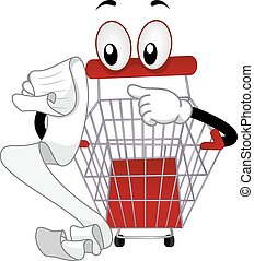 Mascot Shopping Cart Check List