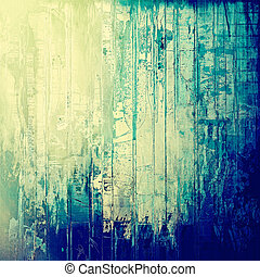 Creative grunge background in vintage style Faded shabby...