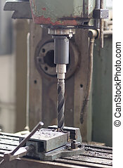 industrial iron drill