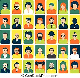 Avatars and user pics for website or social service