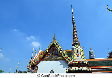 temple building in Bangkok