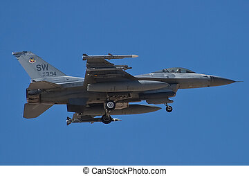 F-16 Fighting Falcon returns to Nellis