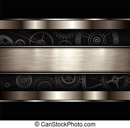 Background technology metallic - Background metallic with...