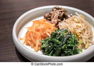 Korean preserved vegetable - Korean preserved various...