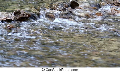 Water stream spring season