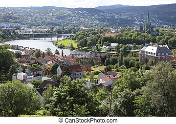 Trondheim city, Norway