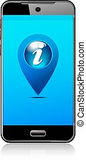 Phone Info, Information Icon Pointe
