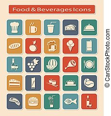 Set of Food & Beverages Icons