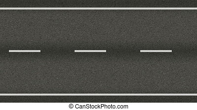 road highway seamless texture in motion two-lane road, the...